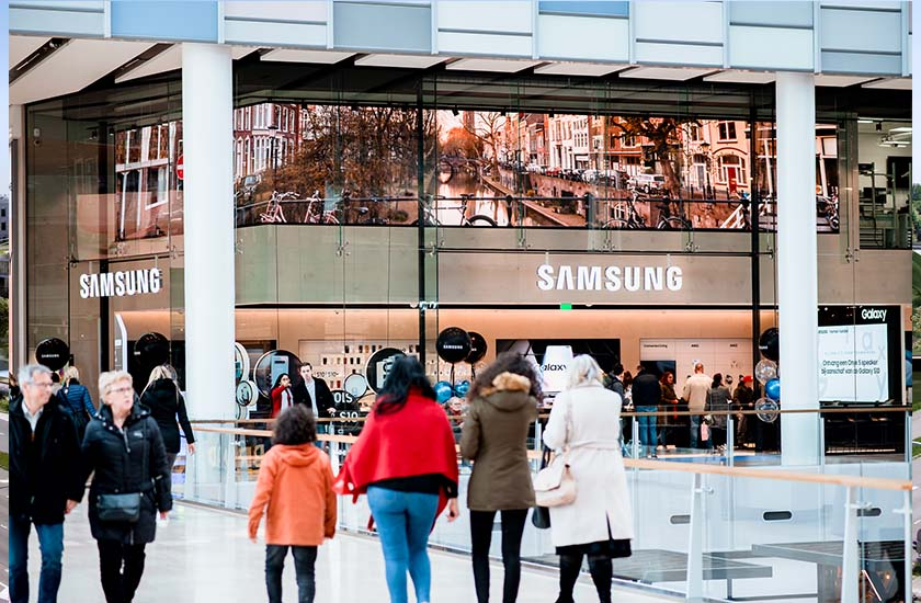 Heuvelman - fixed solutions - Samsung Experience Store