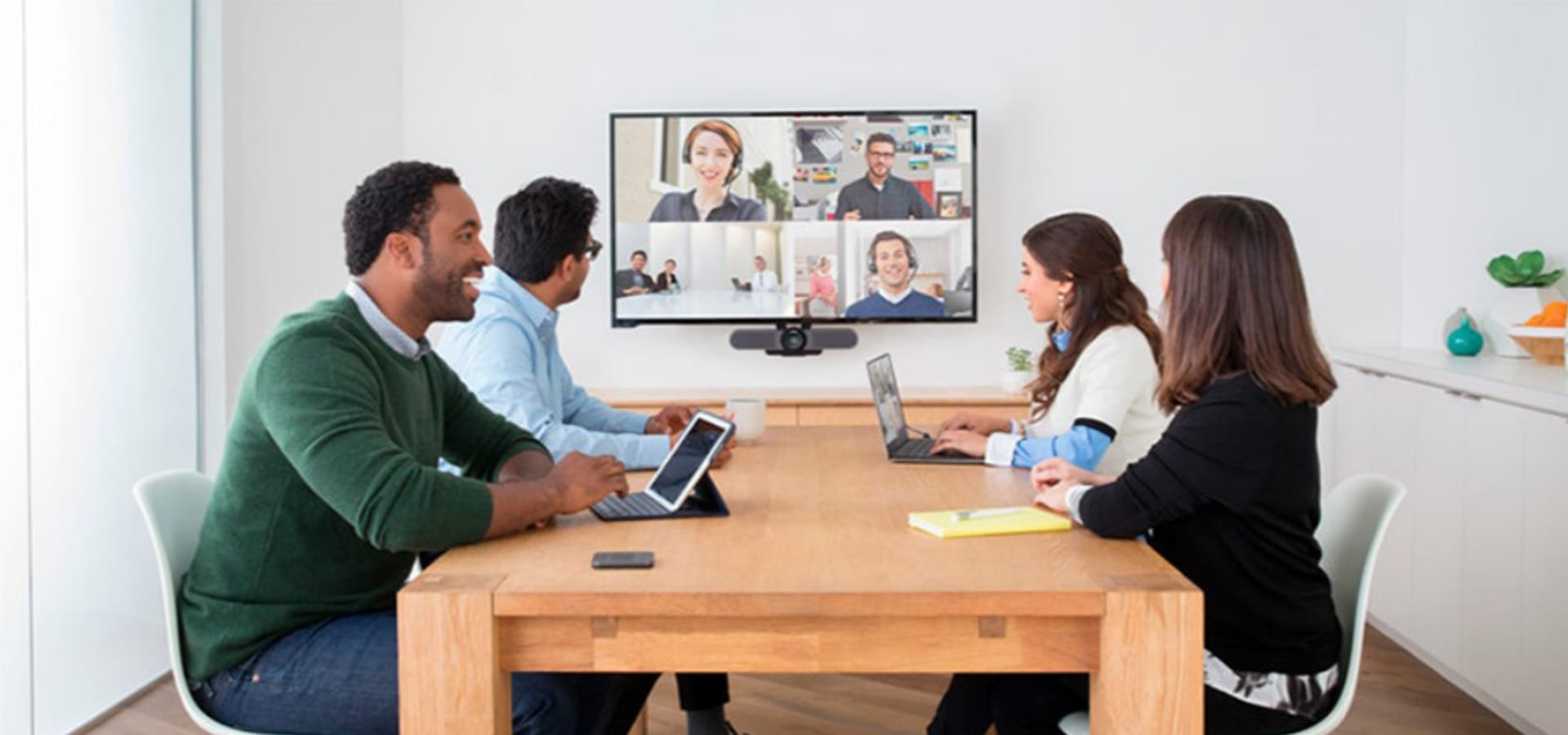 Audio and videoconferencing